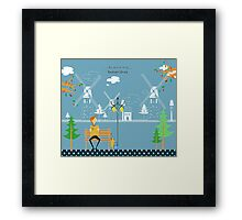Netherlands 578 Framed Print