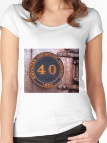 Old Number 40 Women's Fitted Scoop T-Shirt