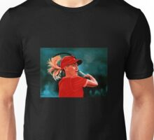 Justine Henin Painting Unisex T-Shirt