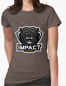 Impact Gaming Panther Logo Womens Fitted T-Shirt