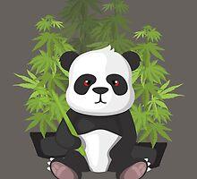 High panda by KushDesigns