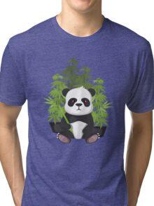 High panda Tri-blend T-Shirt