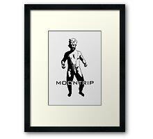 MOONTRIP Framed Print