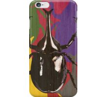 Friendly Neighborhood Fighting Beetle iPhone Case/Skin