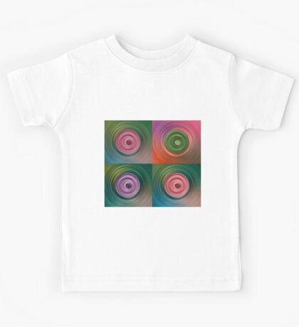 Circular Galaxy Kids Tee
