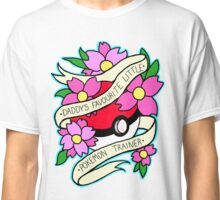 Daddy's Favourite Little Pokemon Trainer Classic T-Shirt