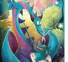 Dappy Dragon by UnderArt