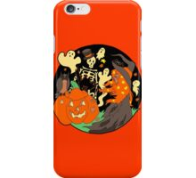 Halloween Witch Skeleton Pumpkin and Ghost iPhone Case/Skin