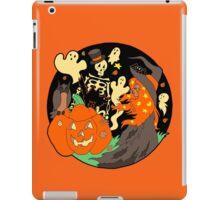 Halloween Witch Skeleton Pumpkin and Ghost iPad Case/Skin