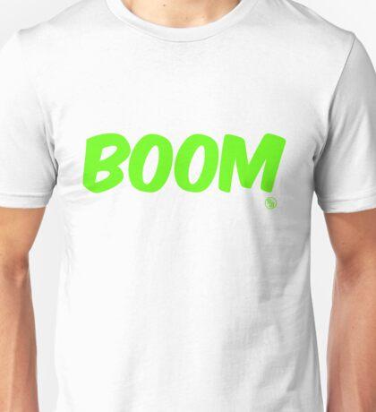 Boom (green) Unisex T-Shirt