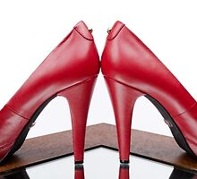 Red High Heels by Erik Ketting