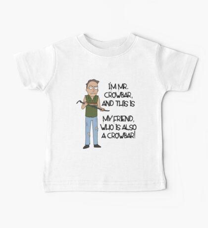 Rick and Morty – Mr. Crowbar Baby Tee