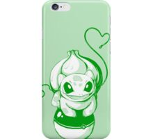 Bulbasuar Pokemon with Pokeball iPhone Case/Skin