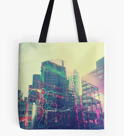 Urban Graffiti Tote Bag