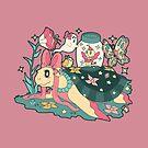 Magical Girl Turtle by SaradaBoru