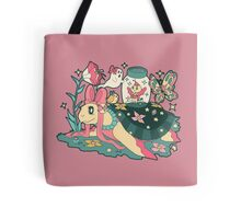 Magical Girl Turtle Tote Bag