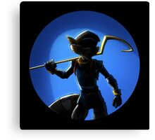 SLY COOPER THE FOX Canvas Print