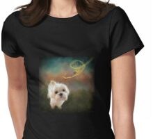 When Puppies Get Confused Womens Fitted T-Shirt