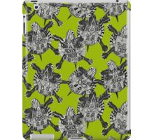turtle party lime iPad Case/Skin