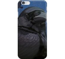 Glossy crow iPhone Case/Skin