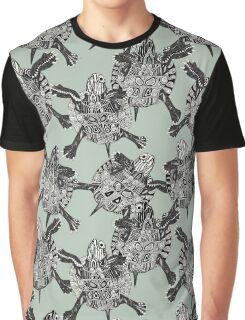 turtle party sage mist Graphic T-Shirt