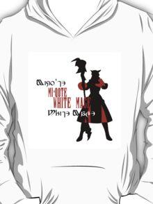 Miqo'te White Mage (Female) T-Shirt