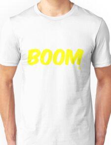 Boom (yellow) Unisex T-Shirt