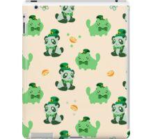 Lucky Citrus Panda and Kitty Pattern iPad Case/Skin