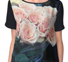 Roses for Sale Chiffon Top