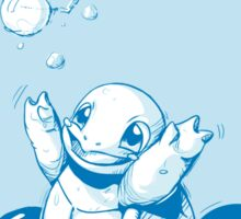 Squirtle Pokemon with Pokeball Sticker