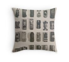 line them up Throw Pillow