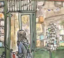 Shakespeare & Co. bookshop in Paris Sticker