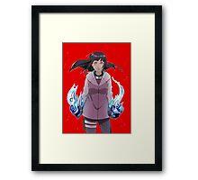 Hinata's Resolve Framed Print