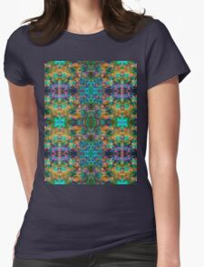 Goa Colours C Womens Fitted T-Shirt
