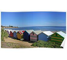Brighton Beach Boxes - Victoria - Australia Poster