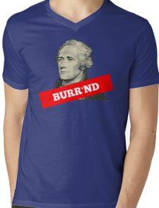 Burr'nd Mens V-Neck T-Shirt