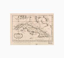 Vintage Map of Cuba (1764) Unisex T-Shirt