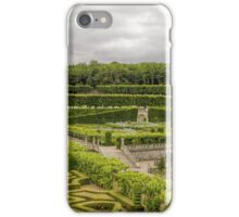 Gardens at the Chateau de Villandry, Loire Valley, France iPhone Case/Skin