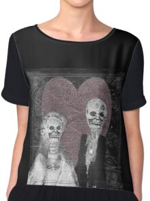 Love In The Afterlife Chiffon Top