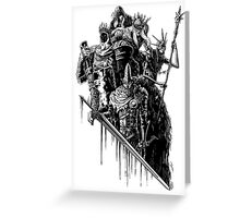 Lords of Cinder, Lords of Ash Greeting Card
