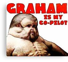 Graham - The Crash Proof Man - Perfect bumper sticker Canvas Print