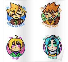 Positive Golden Sun Team 1  Poster