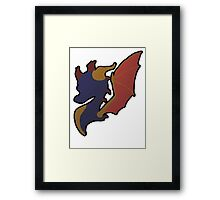 The Dragon we all love Framed Print