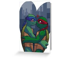 Leo and Raph nosebump Greeting Card