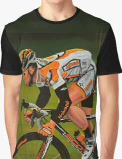 Mark Cavendish Painting Graphic T-Shirt