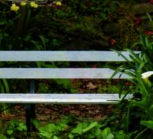 Secluded Seating Sticker