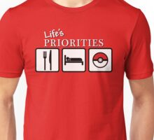 Life's Priorities Unisex T-Shirt