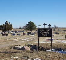 New Hope Cemetery by Gary Benson