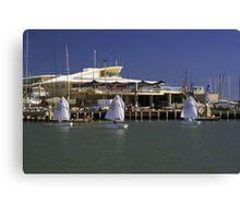 Sandringham Yacht Club  Victoria  Australia Canvas Print
