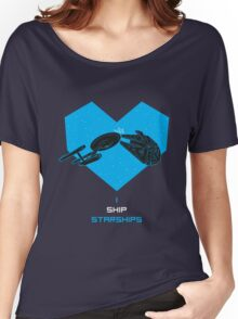 i love my ship Women's Relaxed Fit T-Shirt